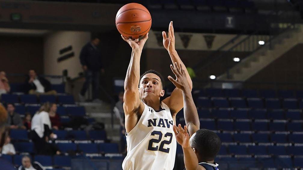 Navy guard Cam Davis