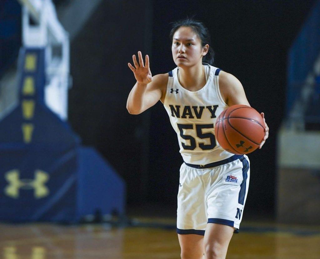 Navy Women's Basketball Guard Mary Kate Ulasewicz