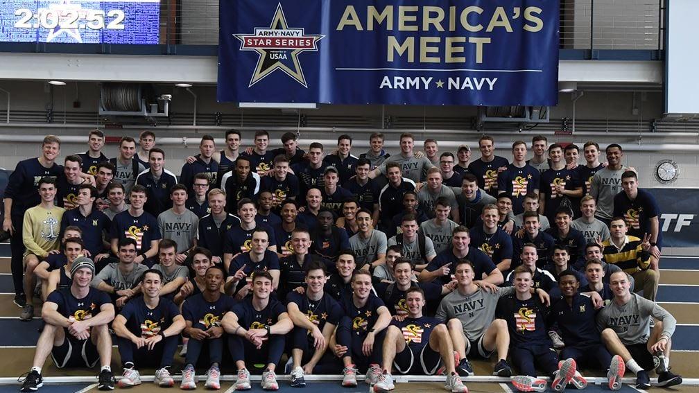 The Navy Men's Track Team