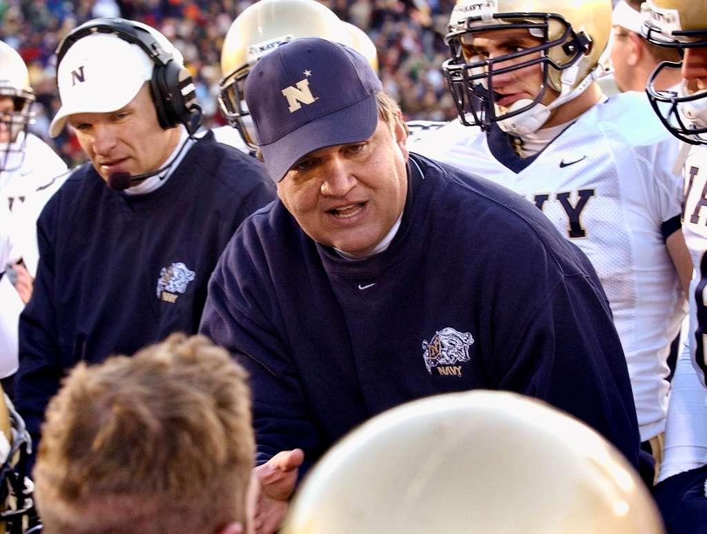Coach Paul Johnson