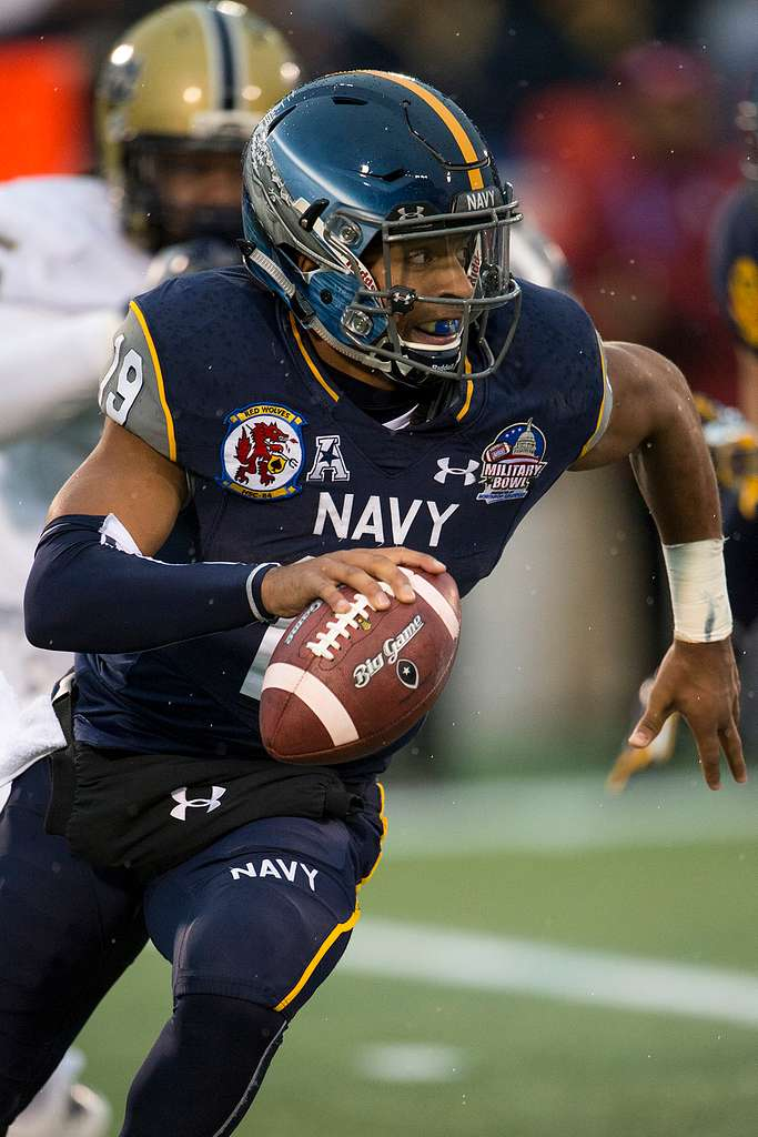 Navy QB Keenan Reynolds currently holds a potentially unbreakable record.