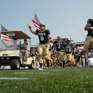 A Look Back at the Biggest 4th Quarter Comeback in Navy History