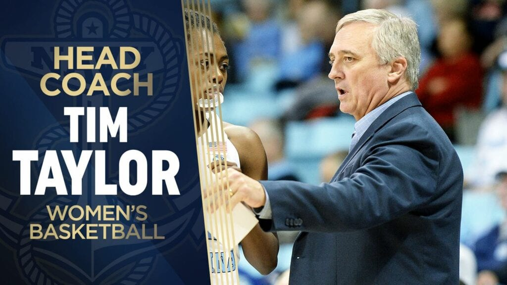 Navy Women's Basketball Coach Tim Taylor