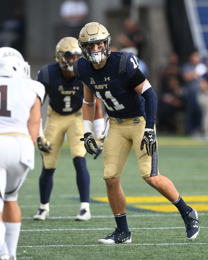 The Navy defense returns and experienced secondary led by safety Evan Fochtman.