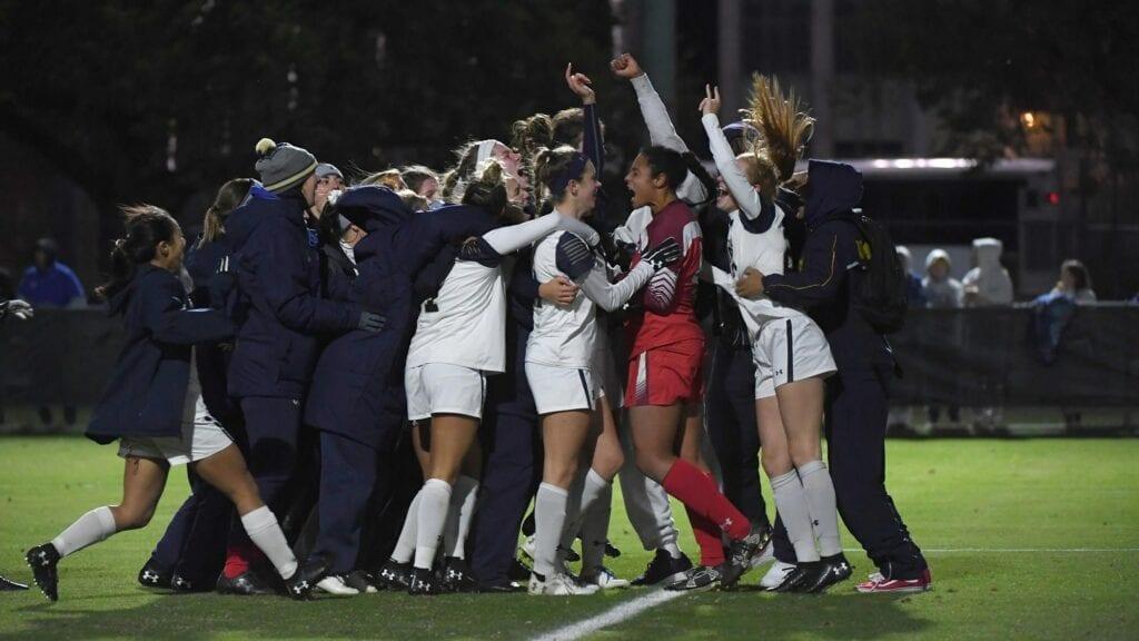 Navy Women's Soccer wins again.