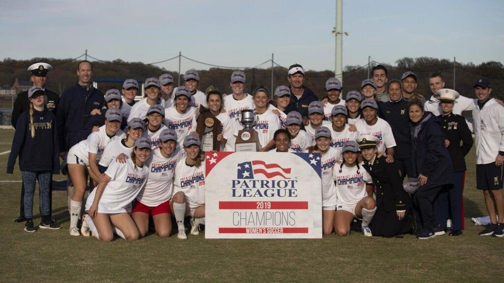Navy Women's Soccer - Patriot League Champions.