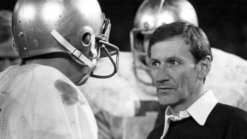 Navy head coach George Welsh (1973-'81) first 100 wins included 55 at Annapolis and 45 at UVA.