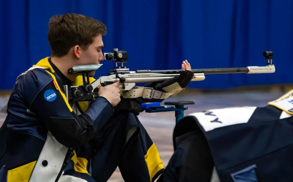 Navy Rifle Athlete Mike Zanti