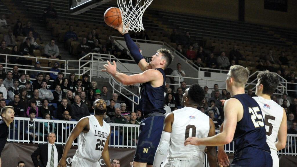Navy forward Daniel Deaver is 2nd in offensive rebounds