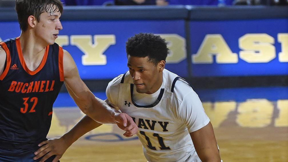 Navy guard Jaylen Walker