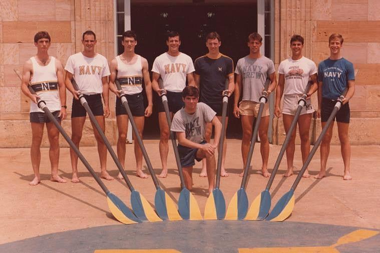 The 1983 Navy Varsity 8 crew.
