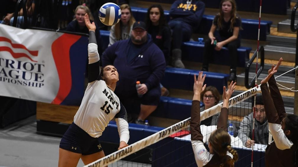 Navy Sports Central will also keep fans updated on sports whose seasons were moved to the spring like Women's Volleyball.
