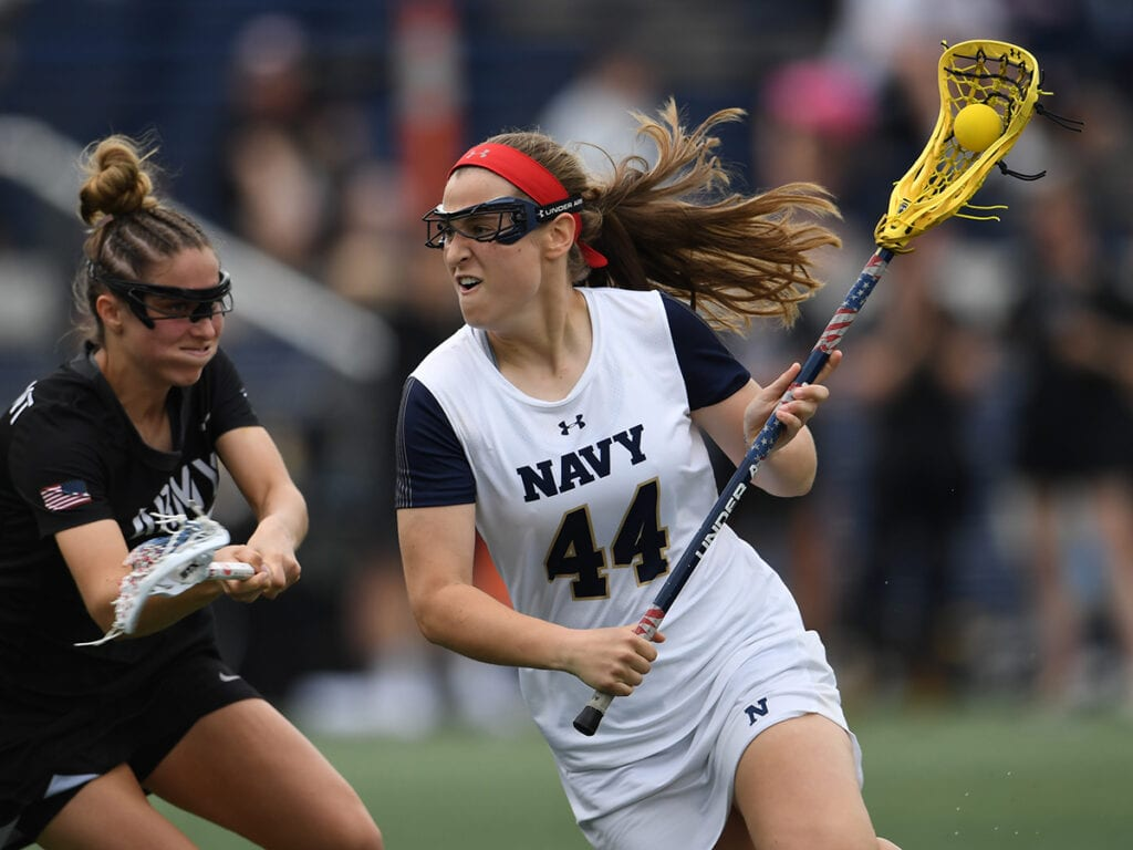 Navy Women's Lacrosse Preview - Nicole Victory (A)