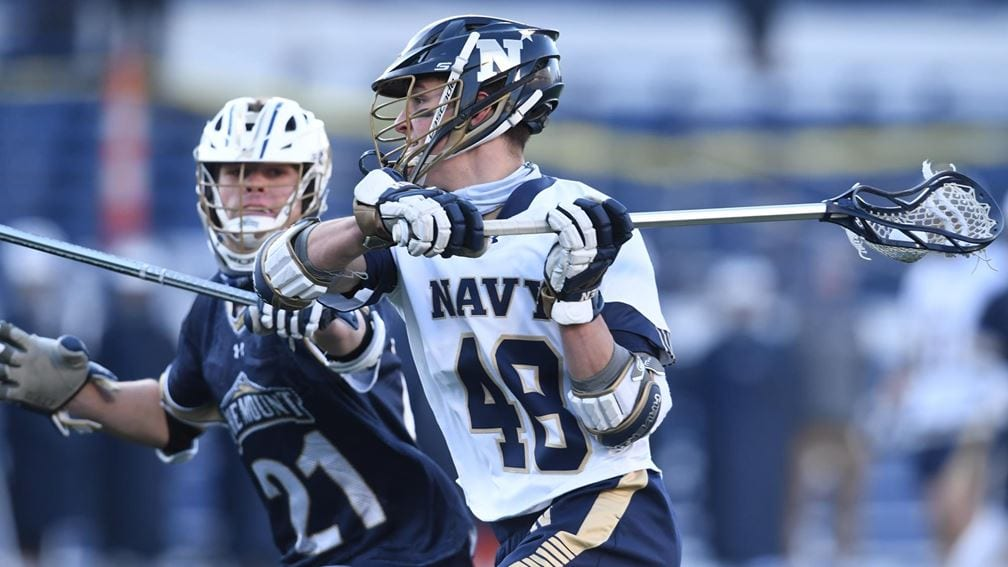 Men's Lacrosse is just one of the sports that will be featured on the Navy Sports Central podcast.