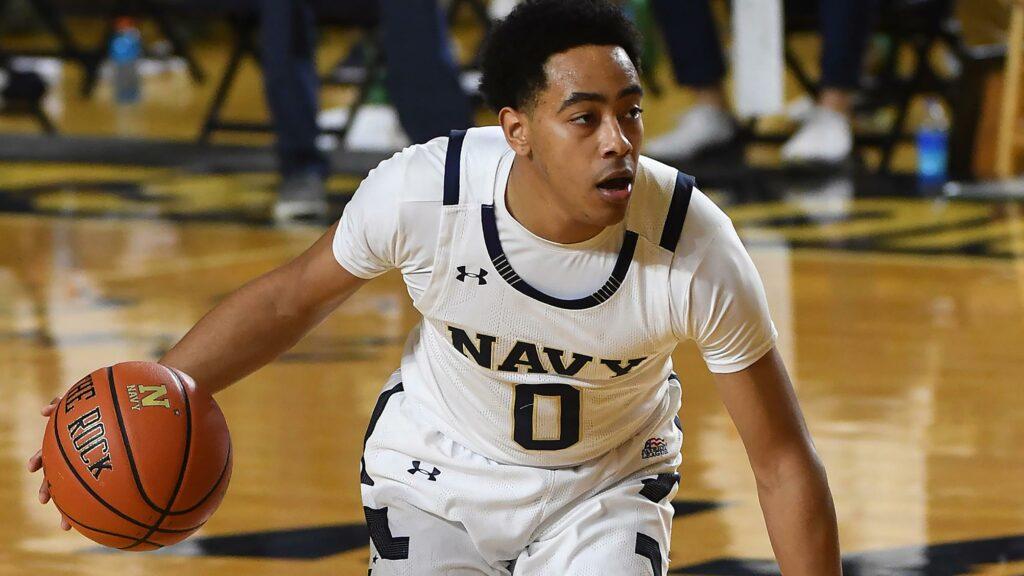 Navy guard Austin Inge