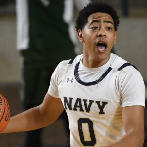 Energy and Effort: How Navy Guard Austin Inge Has Impacted the Navy Basketball Program Right Out of the Gate