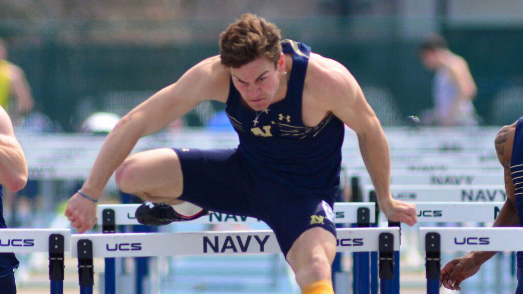 Navy Track & Field Hurdler Clayton Thompson